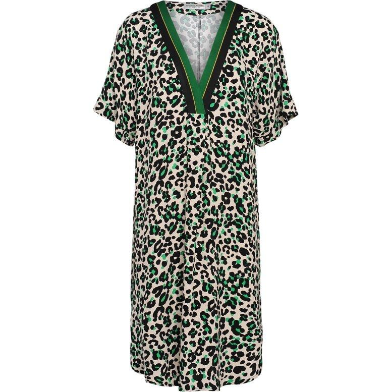 Summum Woman Dress Animal Print 10806