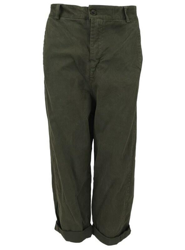 Black Colour BLAIR Baggy Buks 7/8 Længde Army 3873